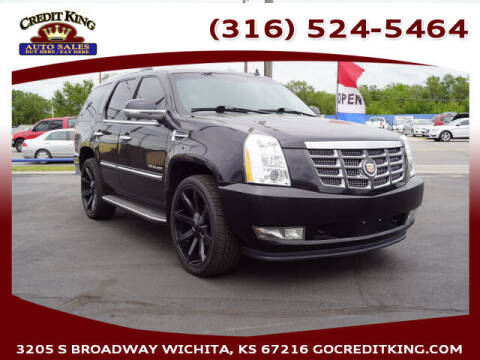2010 Cadillac Escalade for sale at Credit King Auto Sales in Wichita KS