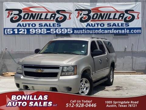 2007 Chevrolet Suburban for sale at Bonillas Auto Sales in Austin TX