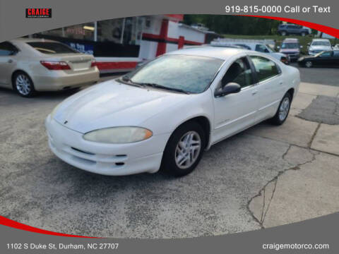 2001 Dodge Intrepid for sale at CRAIGE MOTOR CO in Durham NC