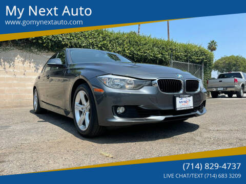 2015 BMW 3 Series for sale at My Next Auto in Anaheim CA