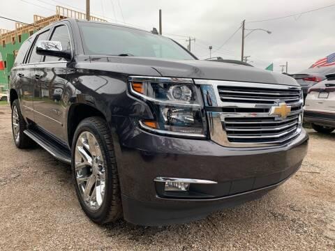 2016 Chevrolet Tahoe for sale at LLANOS AUTO SALES LLC in Dallas TX