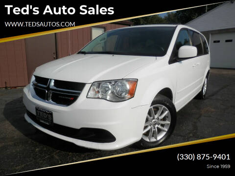 2015 Dodge Grand Caravan for sale at Ted's Auto Sales in Louisville OH