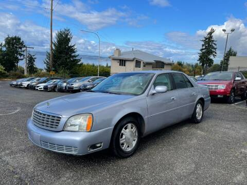 2005 Cadillac DeVille for sale at KARMA AUTO SALES in Federal Way WA