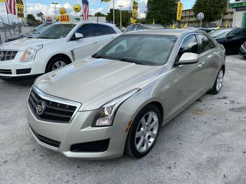 2014 Cadillac ATS for sale at D & P OF MIAMI CORP in Miami FL
