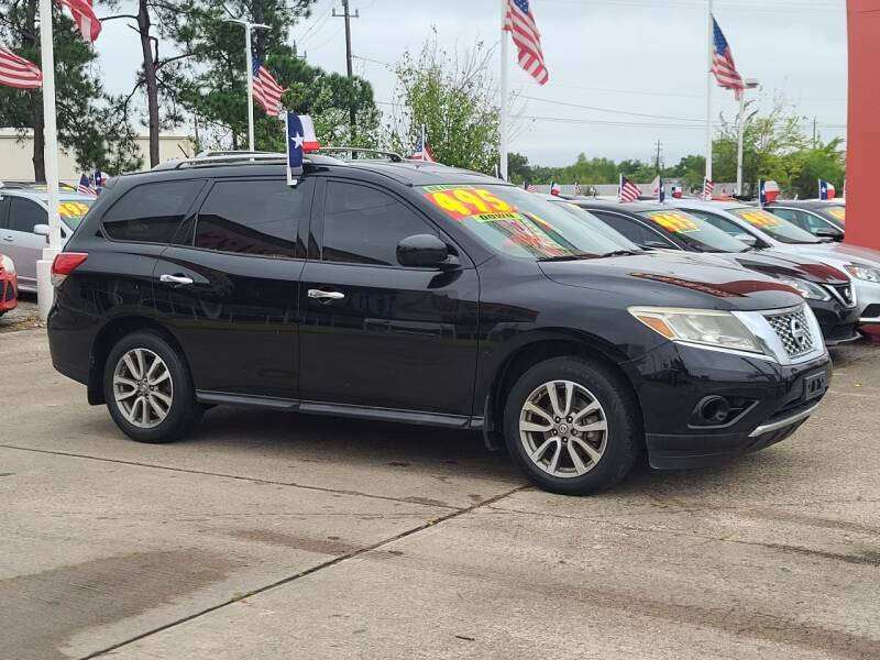 2014 Nissan Pathfinder for sale in Houston, TX