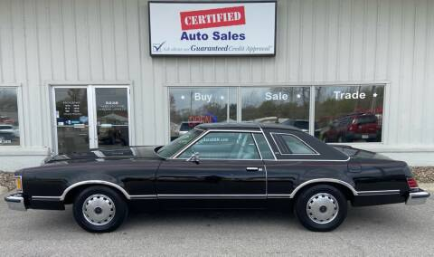 1979 Mercury Cougar for sale at Certified Auto Sales in Des Moines IA