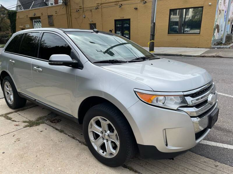 2014 Ford Edge for sale at Quality Motors of Germantown in Philadelphia PA