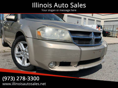 2009 Dodge Avenger for sale at Illinois Auto Sales in Paterson NJ