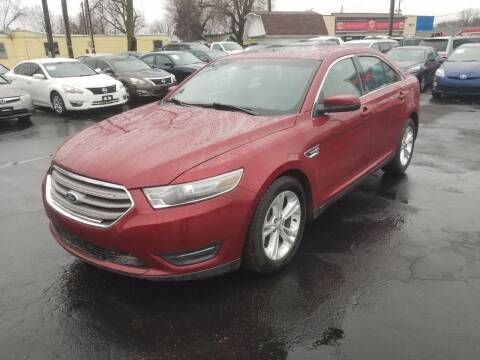 2014 Ford Taurus for sale at Nonstop Motors in Indianapolis IN