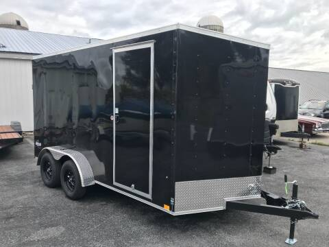 2022 Pace American 7x14 V-Nose Tandem Axle (7K)