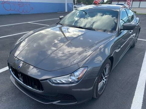 2014 Maserati Ghibli for sale at Eden Cars Inc in Hollywood FL