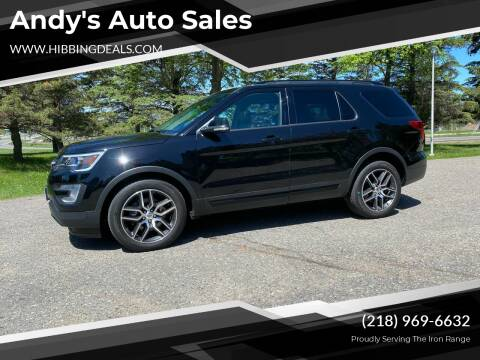 2016 Ford Explorer for sale at Andy's Auto Sales in Hibbing MN