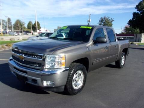 2012 Chevrolet Silverado 1500 for sale at Ideal Auto Sales, Inc. in Waukesha WI