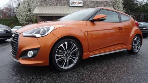 2016 Hyundai Veloster for sale at Driven Pre-Owned in Lenoir NC