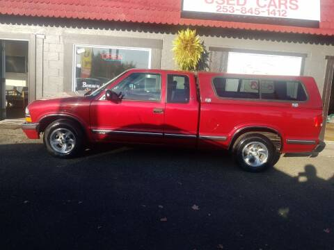 1998 Chevrolet S-10 for sale at Bonney Lake Used Cars in Puyallup WA