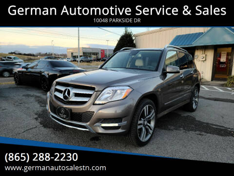 2015 Mercedes-Benz GLK for sale at German Automotive Service & Sales in Knoxville TN