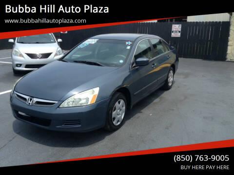 2007 Honda Accord for sale at Bubba Hill Auto Plaza in Panama City FL