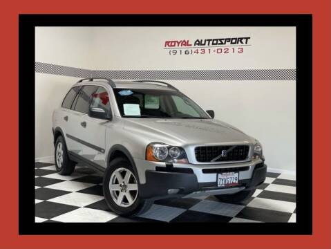 2005 Volvo XC90 for sale at Royal AutoSport in Sacramento CA
