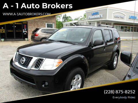 2012 Nissan Pathfinder for sale at A - 1 Auto Brokers in Ocean Springs MS