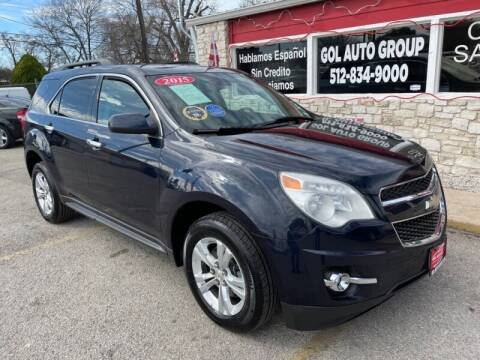 2015 Chevrolet Equinox for sale at GOL Auto Group in Austin TX