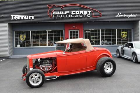 1932 Ford Hi-Boy Roadster for sale at Gulf Coast Exotic Auto in Biloxi MS