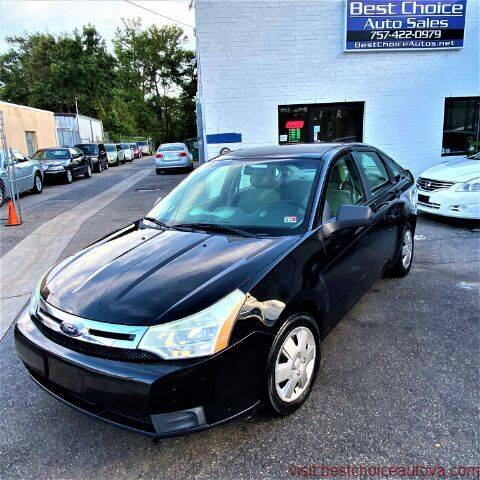 2008 Ford Focus for sale at Best Choice Auto Sales in Virginia Beach VA
