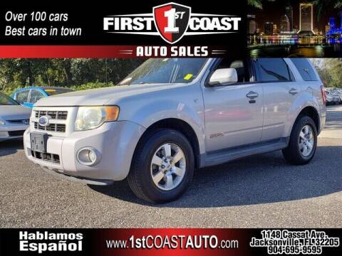 2008 Ford Escape for sale at 1st Coast Auto -Cassat Avenue in Jacksonville FL