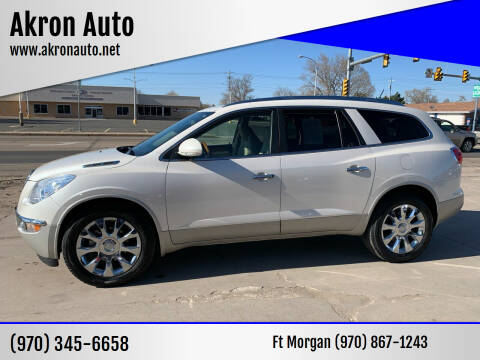 2010 Buick Enclave for sale at Akron Auto - Fort Morgan in Fort Morgan CO