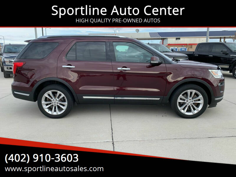 2018 Ford Explorer for sale at Sportline Auto Center in Columbus NE