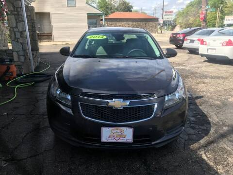2014 Chevrolet Cruze for sale at DestanY AUTOMOTIVE in Hamilton OH