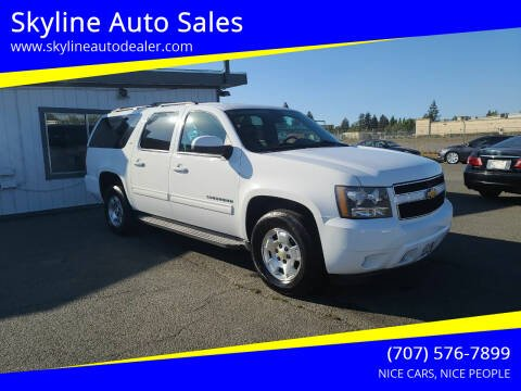 2012 Chevrolet Suburban for sale at Skyline Auto Sales in Santa Rosa CA