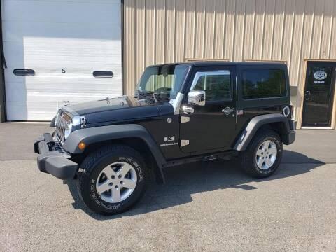 2007 Jeep Wrangler for sale at Massirio Enterprises in Middletown CT