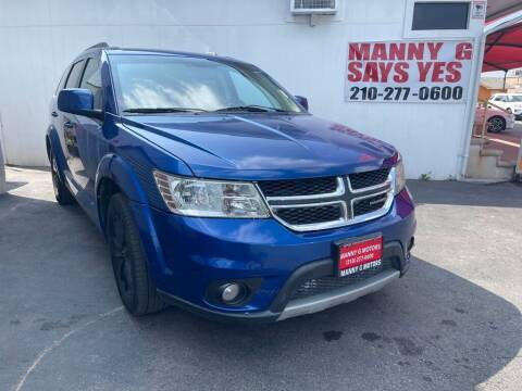 2015 Dodge Journey for sale at Manny G Motors in San Antonio TX