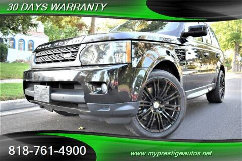 2011 Land Rover Range Rover Sport for sale at Prestige Auto Sports Inc in North Hollywood CA