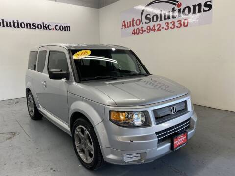 2008 Honda Element for sale at Auto Solutions in Warr Acres OK