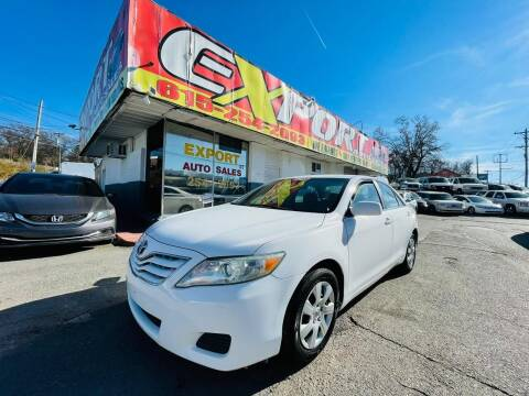 2011 Toyota Camry for sale at EXPORT AUTO SALES, INC. in Nashville TN