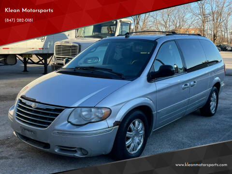 2005 Chrysler Town and Country for sale at Klean Motorsports in Skokie IL