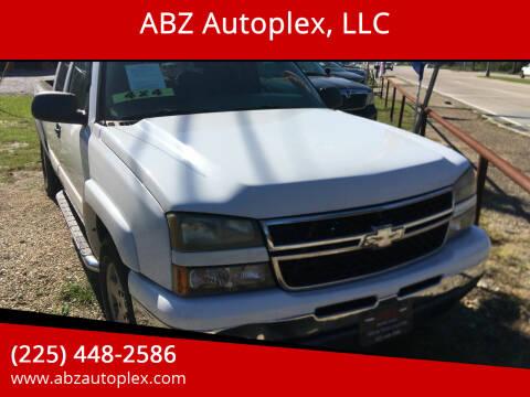 2007 Chevrolet Silverado 1500 Classic for sale at ABZ Autoplex, LLC in Baton Rouge LA