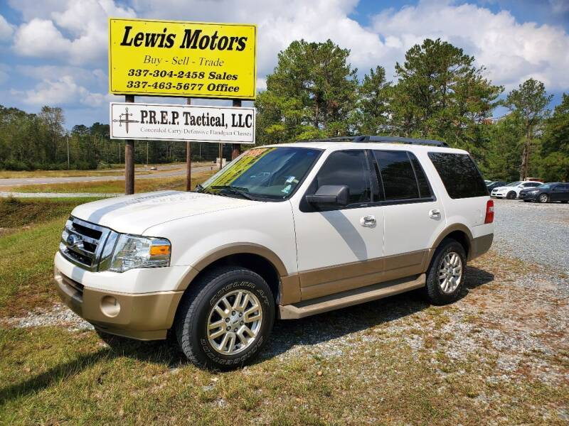 2012 Ford Expedition for sale at Lewis Motors LLC in Deridder LA
