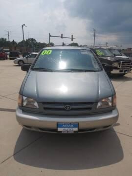 2000 Toyota Sienna for sale at Arak Auto Group - Arak Auto Broker in Kankakee IL