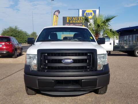 2014 Ford F-150 for sale at 1ST AUTO & MARINE in Apache Junction AZ