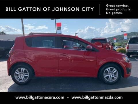 2012 Chevrolet Sonic for sale at Bill Gatton Used Cars - BILL GATTON ACURA MAZDA in Johnson City TN
