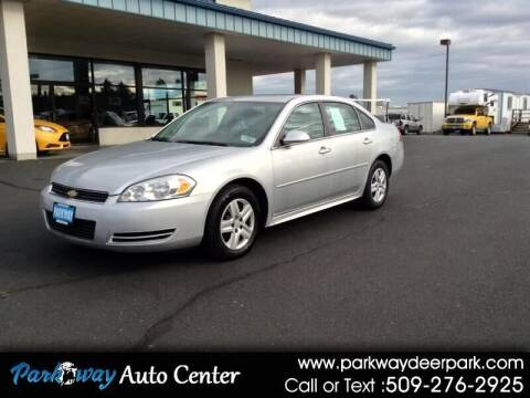 2010 Chevrolet Impala for sale at PARKWAY AUTO CENTER AND RV in Deer Park WA