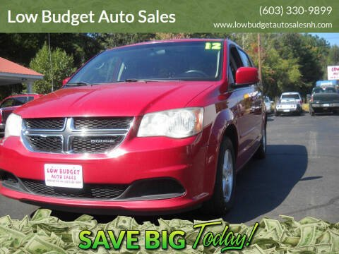 2012 Dodge Grand Caravan for sale at Low Budget Auto Sales in Rochester NH