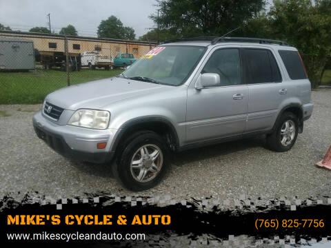 2001 Honda CR-V for sale at MIKE'S CYCLE & AUTO in Connersville IN