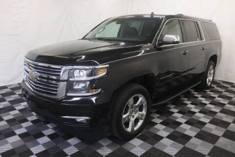 2015 Chevrolet Suburban for sale at AH Ride & Pride Auto Group in Akron OH