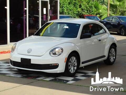 2013 Volkswagen Beetle for sale at Drive Town in Houston TX