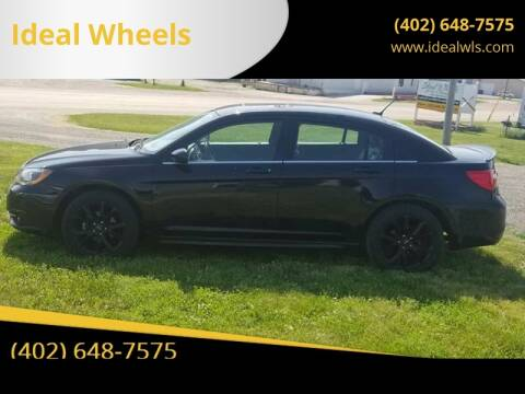 2014 Chrysler 200 for sale at Ideal Wheels in Bancroft NE