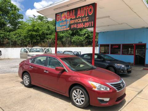 2013 Nissan Altima for sale at Global Auto Sales and Service in Nashville TN