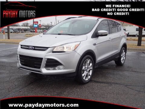2013 Ford Escape for sale at Payday Motors in Wichita And Topeka KS